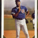 MIKE HARKEY 1993 Topps GOLD Insert #657.  CUBS