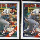 WADE BOGGS (2) 1988 Topps #200.  RED SOX