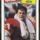 BILL MAAS 1987 Topps All Pro #169.  CHIEFS