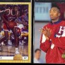VIN BAKER 1993 Classic Draft #5 + 1993 Classic 4-Sport Draft #5.  HARTFORD