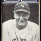 LOU GEHRIG 1990 JBC Collect-A-Books.  YANKEES