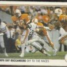 TAMPA BAY 1983 Fleer Action #53 of 88.  BUCS