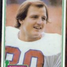 DON HASSELBECK 1981 Topps #159.  PATRIOTS