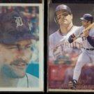 KIRK GIBSON 1986 Sportflics #21 + 1993 Flair #203.  TIGERS