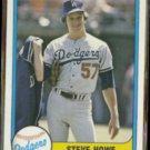 STEVE HOWE 1981 Fleer #136.  DODGERS
