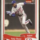 ENDY CHAVEZ 2004 Fleer Tradition #276.  EXPOS
