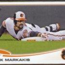 NICK MARKAKIS 2013 Topps #592.  ORIOLES