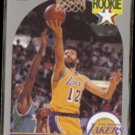 VLADE DIVAC 1990 Hoops Rookie #154.  LAKERS