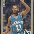 MICHAEL ADAMS 1994 UD CC Silver Signature Insert #294.  HORNETS