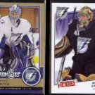 MIKE SMITH 2008 O-Pee-Chee #338 + 2008 UD Victory #22.  LIGHTNING