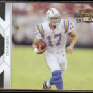 PHILIP RIVERS 2010 Panini Threads #122.  CHARGERS