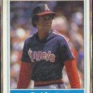 ROD CAREW 1986 Fleer Leaders Odd #4 of 44.  ANGELS