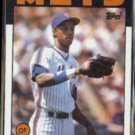 DARRYL STRAWBERRY 1986 Topps #80.  NY METS