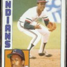 JULIO FRANCO 1984 Topps #48.  INDIANS