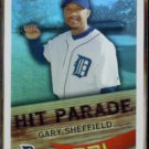 GARY SHEFFIELD 2007 Topps Hit Parade Insert #HP-15.  TIGERS