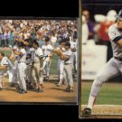 WADE BOGGS 1992 Stadium Club #520 + 1992 SC All Star #15.  RED SOX