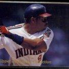 ALBERT BELLE 1992 Upper Deck Looss Collection Insert #WL-12.  INDIANS