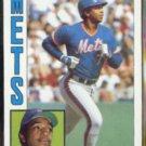 HUBIE BROOKS 1984 Topps #368.  METS