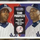 ALFONSO SORIANO 2000 Fleer Tradition Prospects #41.  YANKEES