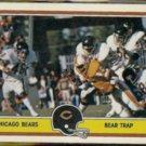 CHICAGO 1981 Fleer Action #8 of 88.  BEARS