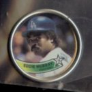 EDDIE MURRAY 1989 Topps Coin #20.  DODGERS