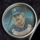 KIRK GIBSON 1987 Topps Coin #11.  TIGERS