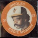 EDDIE MURRAY (3) Item Odd Lot - 1984 Pog & Pin + 1987 Coin.  ORIOLES