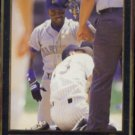 HAROLD REYNOLDS 1992 Leaf Black GOLD Insert #38.  SEA MARINERS