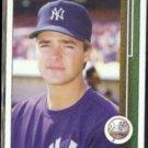 AL LEITER 1989 Upper Deck #588.  NY YANKEES