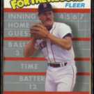 WADE BOGGS 1989 Fleer For the Record #1 of 6.  RED SOX