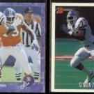 SIMON FLETCHER 1993 Edge #323 + 1993 Bowman #13.  BRONCOS