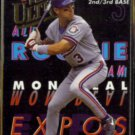 MIKE LANSING 1993 Ultra All Rookie Team Insert #4.  EXPOS