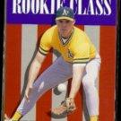 SCOTT SPIEZIO 1996 Upper Deck CC Rookie Class #447.  A's