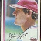 JIM KAAT 1982 Topps #367.  StL CARDS