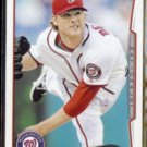 ROSS DETWILER 2014 Topps #245.  NATIONALS