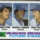 FRANK DIPINO 1982 Topps Future Stars #333.  BREWERS