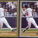 ANDRUW JONES 2000 Topps #195 + Opening Day #104.  BRAVES