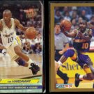 TIM HARDAWAY 1992 Ultra #64 + 1992 Fleer N#OB.  WARRIORS