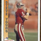 STEVE YOUNG 1991 Pacific #470.  49ers
