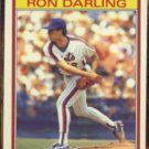 RON DARLING 1986 KayBee Young Stars #6 of 33.  METS