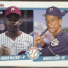 MOISES ALOU 1990 Fleer Prospects #650.  PIRATES
