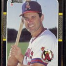 BOB BOONE 1987 Donruss #233.  ANGELS