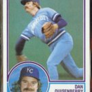 DAN QUISENBERRY 1983 Topps #155.  ROYALS