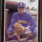 DAVE VALLE 1989 Donruss Best #248.  MARINERS