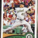 ANDREW BAILEY 2011 Topps #280.  A's
