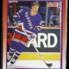 DOUG WEIGHT 1991 Score Prospect #286.  RANGERS