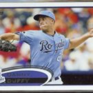 DANNY DUFFY 2012 Topps #194.  ROYALS