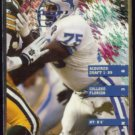LOMAS BROWN 1995 Fleer #121.  LIONS