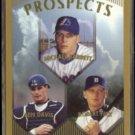 BEN DAVIS 1999 Topps Prospects #208.  PADRES