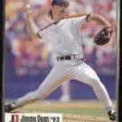 DOUG DRABEK 1993 MLPBA Jimmy Dean Insert #19 of 28.  ASTROS
